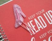 Planner paper clip Glass slipper high heel