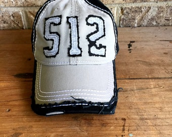512 Baseball cap, Austin 512, Austin area code baseball cap, Fun Baseball Cap, Austin Cap, Austin Texas, Beach Hat