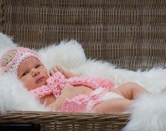 Baby Aviator Outfit, Pilot Newborn Outfit, Pilot Crocheted Outfit, Little Pilot Costume, Pilot Costume, Pilot Outfit