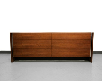 Robert Baron for Glenn of California 6 Drawer Mid Century Dresser Credenza