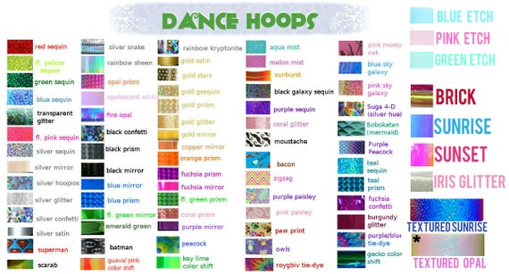 Custom Glitter Grip Dance & Exercise Hula Hoop COLLAPSIBLE or Push Button Fitness
