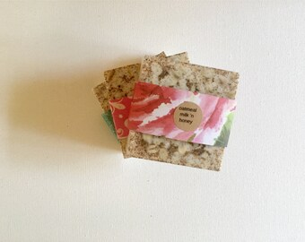 CHOOSE 4 SOAPS: Gift Set, handmade soap, soap pack