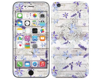 FLORAL GRAFFITI iPhone Decal iPhone Skin iPhone Cover iPhone 6 Skin, iPhone 6 Plus Decal iPhone 6S Skin iPhone 6S Decal Cover iPhone 5 5S