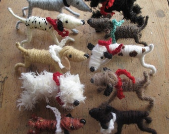Set of 5 Dogs