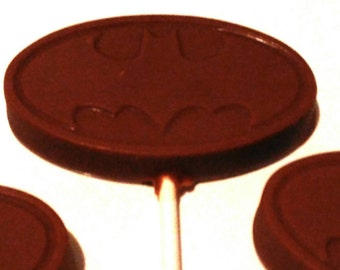 Batman logo lollies x 3
