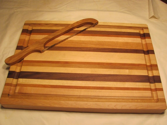 Turkey carving board large wooden by
