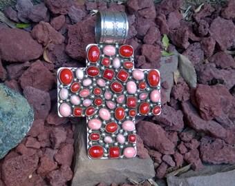 Rocki Gorman Happy Trails Coral Cross