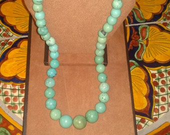 Fabulous Huge Chinese Turquoise Beads