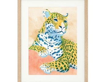 Leopoldo - the Leopard - Large - Limited Edition Print