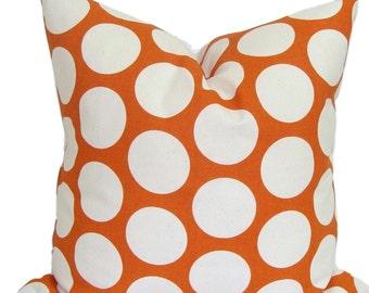 ORANGE PILLOWS Sale, 18x18 Inch. Orange Pillow Covers, Burnt Orange Pillow, Throw Pillow, Orange Pillow,Accent Pillow, Fall Cushion Cover,cm