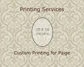 Fine Art Printing 15 X 16 Print Custom Printing Services For PAIGE