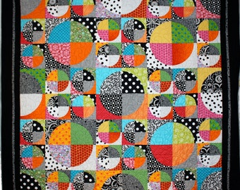 Optical Quilt Pattern PDF by Emma Jean Jansen - Immediate Download