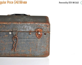 ON SALE Industrial Big Metal Toolbox