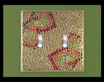Zen: Hacienda - Glass Mosaic Switch Plate