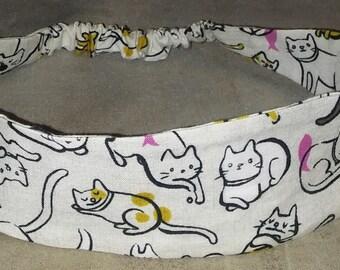 Beige Cat Headband