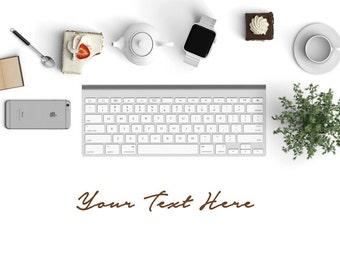 Styled Product Photography    Keyboard    Product Mockup   Mockup Design   Advertising   Marketing   Scene Mockup   Product Display