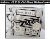 Premade scrapbook love album, love scrapbook,family photos,3D,Wedding, Romance, wedding shower