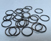 Vintaj Arte Metal {Large 15mm Smooth 16g Jump Ring} 24 Pcs - AJR0003