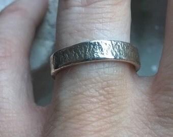 Handmade Sterling Silver Band Ring