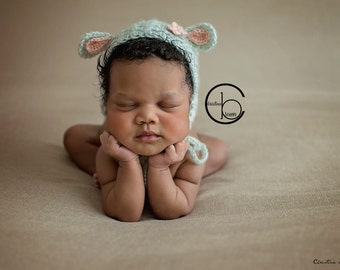 Newborn girl bonnet, newborn photo prop, newborn hat, newborn gir, Newborn bonnet, newborn lace bonnet, newborn prop