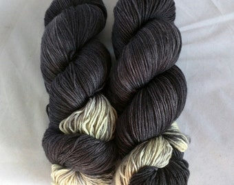 Time on Squishysock MCN fingering weight yarn