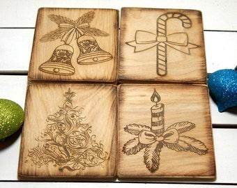 Coasters, Bridesmaid Gift, Maid of Honor Gift, Groomsmen Gift, Wedding Gift, Christmas Gift, Thank you Gift, Birthday Gift, Gift For Boss