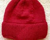 Man or Woman 1898 Seaman's Hat - Stocking Cap - Extra Warm - Winter Hat - Wool