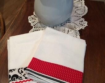 Decorated Floursack Dish Towels