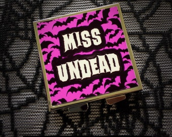 Miss Undead compact mirror