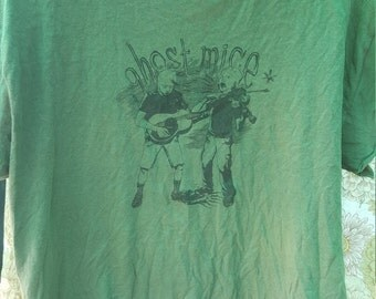 Ghost Mice band tshirt