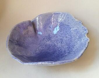 Ceramic blue bowl