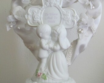 Vintage Wedding Cake Topper Precious Moments Musical Wedding Cake Top