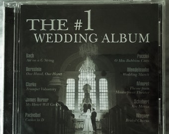The #1 WEDDING ALBUM -Ceremony Music 2-CD Set New/Sealed - Wedding March for Classic Bride - Decca c, 2003