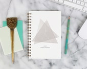 """2016 Weekly Planner """"Cancer Constellation"""" with monthly spreads, back pocket, stickers, adhesive tabs and more"""