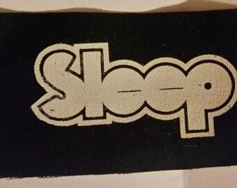 SLEEP PATCH - stoner metal black canvas