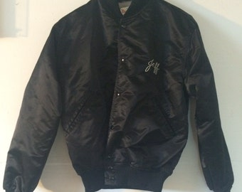 "perfect silky vintage bomber ""Evita"" musical"