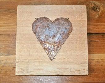 Heart - Reclaimed Wood