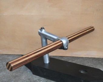 Wooden bicycle handlebar Flat