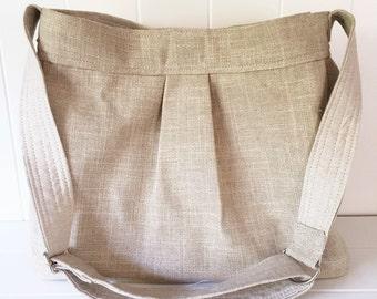 ALL Linen Diaper Bag