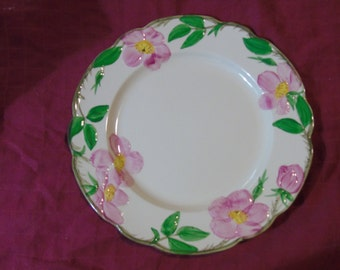 Vintage Franciscan USA desert rose  dinner plate