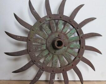 JOHN DEERE Rotary Hoe Disc SUNFLOWER, Sunflower disc