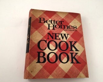 Better Homes and Gardens New Cook Book, 1968