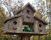Barn style bird house