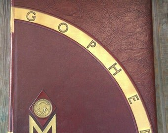 1934 University of Minnesota Gopher Yearbook Frank Butch Larson