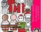 Melonheadz: Build A Santa