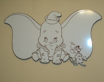 Dumbo and Timothy Mouse / Dry Erase Marker Board