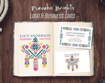 Personalised Navaho Brights Logo and Business Card Design