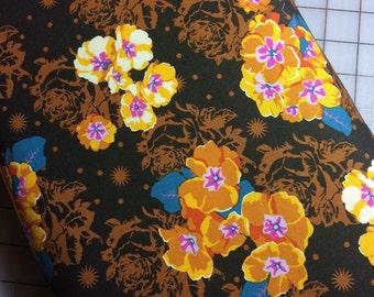 HALF YARD cut of Anna Maria Horner- Pretty Potent - Primrose in Golden  100% cotton