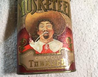 French tobacco tin
