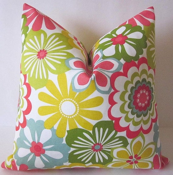 Floral Pillow Cover Tropical Pillow Covers Boho Pillow
